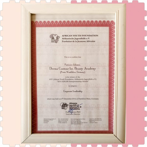 Certificate of incoperation